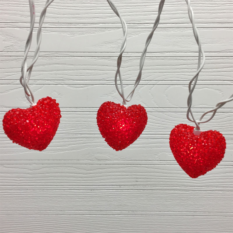 loving hearts party string lights valentines day string lights - Valentine String Lights