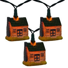Wild Western Cross Party String Lights - 10 Lights