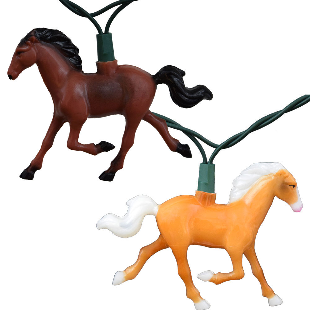Running Horse Party String Lights