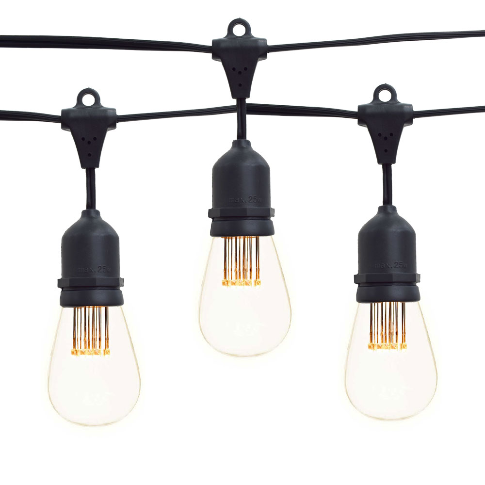 Led Suspended Vintage String Lights