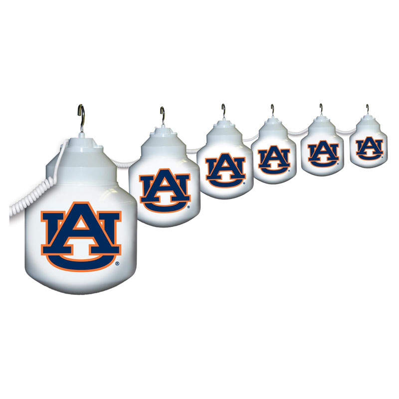 Auburn Tigers Globe String Light Set