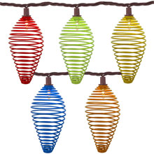 Multi Color Wire Tear Drop Patio Lights