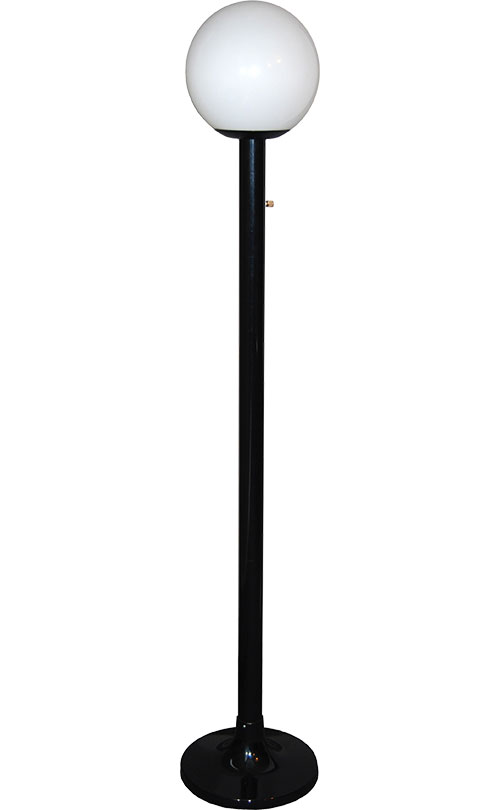 One-Head Black Luminaire Stand - 12