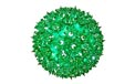 "6"" Mini Hanging Starlight Sphere - 50 Lights - Green - 724604"
