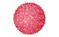 "6"" Mini Hanging Starlight Sphere - 50 Lights - Red"