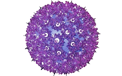 "7.5"" Hanging Starlight Sphere - 100 Lights - Purple - 724706"