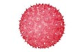 "7.5"" Regular Hanging Starlight Sphere - 100 Lights - Red - 724707"