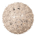 "7.5"" Hanging Starlight Sphere - 100 Lights - Silver - 724710"