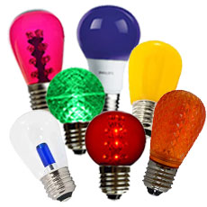 LED Colored Light Bulbs