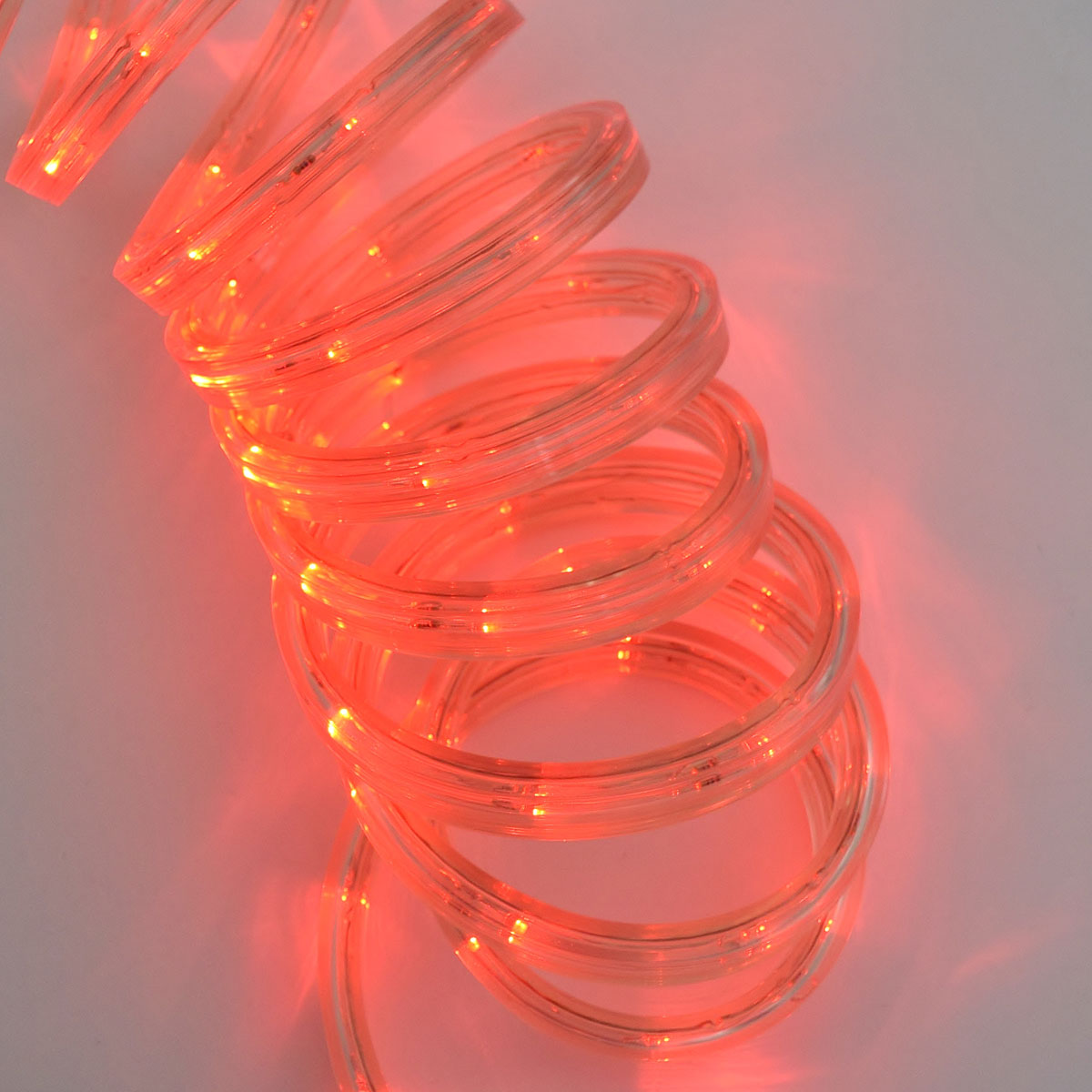 Red led rope light red led flat rope light 12 ft aloadofball Images