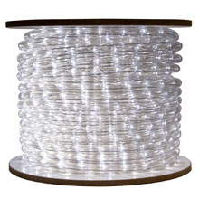 Cool White Bulk LED Rope/Tube Light Reel - 150'