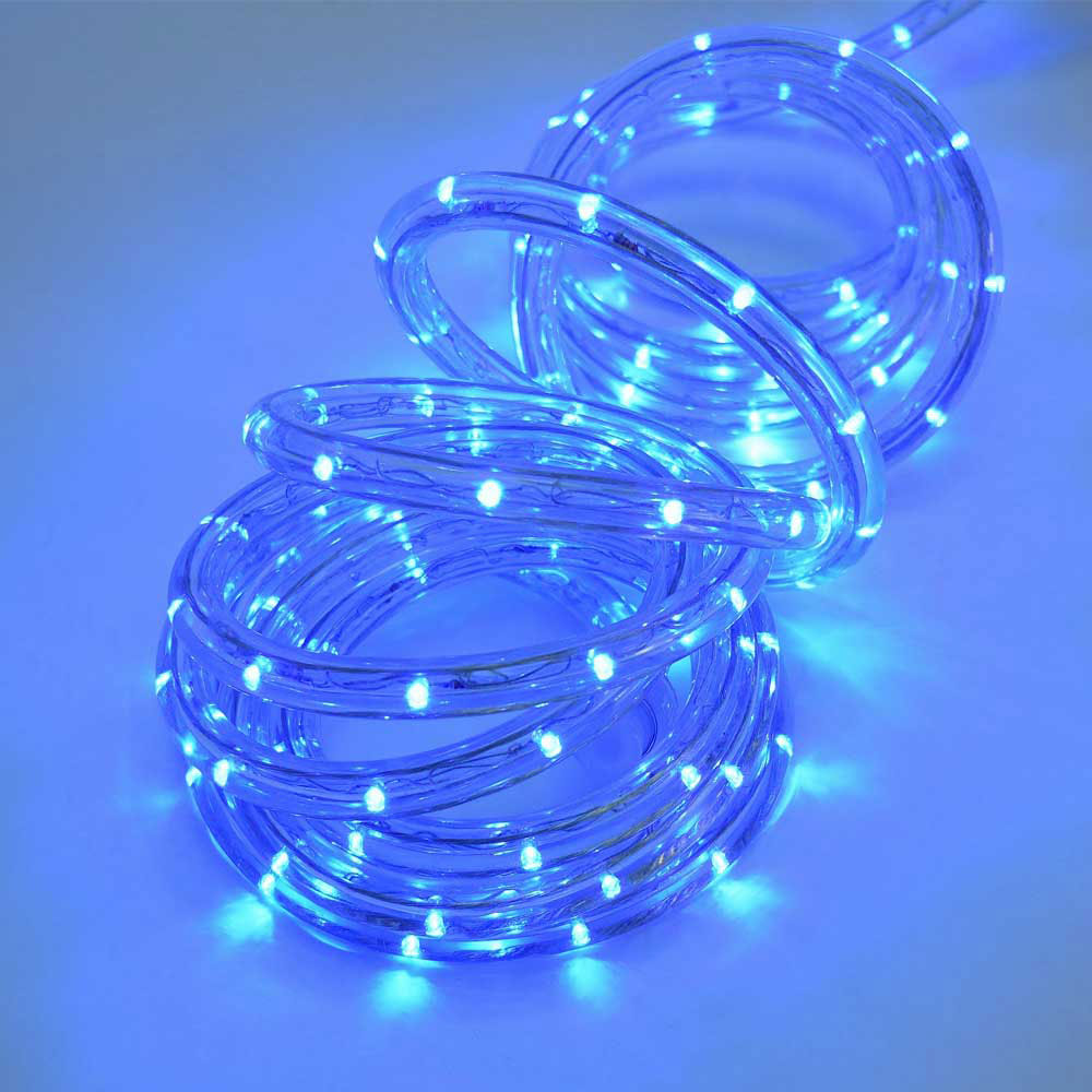 Led blue rope light 18 led blue rope light aloadofball