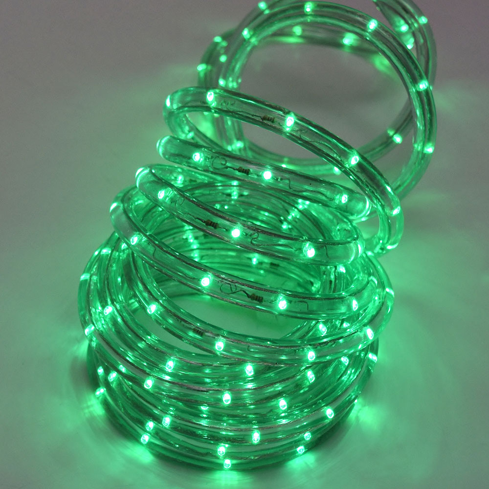 Led green rope light 18 led green rope light aloadofball