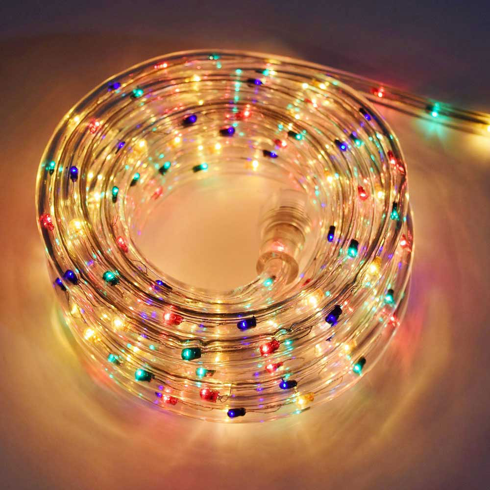 Multi color rope light 18 multi color rope light aloadofball