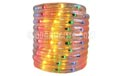 "18' Rope/Tube Light - 3/8"" Diameter - Multi-Color - BS-16000"