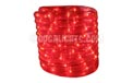 "18' Rope/Tube Light - 3/8"" Diameter - Red - BS-16300"