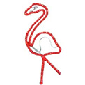 Flamingo Rope Light Motif - 2' - 16700