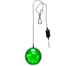 "6"" Green Starfire Sphere - 60"" Lead/3 Function"
