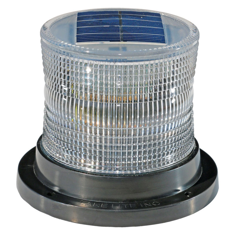 White Solar Marine Light - 4-3/10