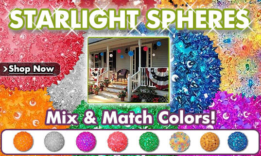 Hanging Starlight Sphere Party Lights
