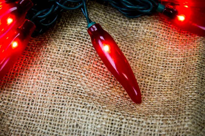 Chili Pepper String Lights 10 Lights