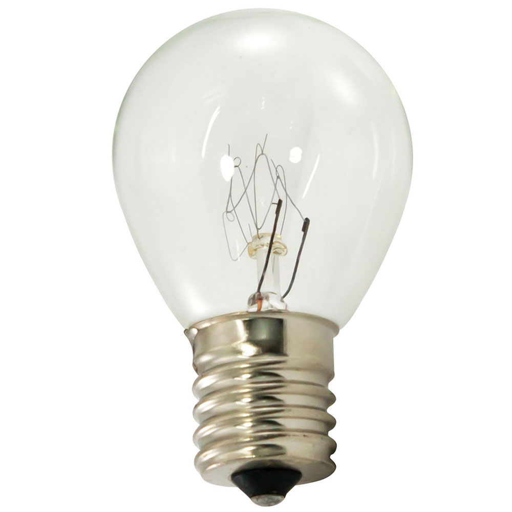 Clear Light Bulbs 10 Watt S11 Intermediate Base - 25 Pack