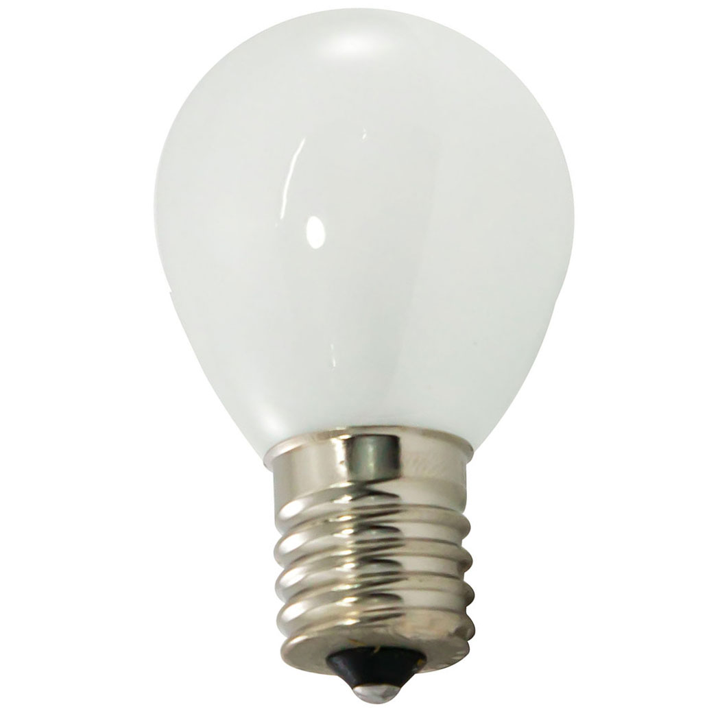 Frosted White Light Bulb