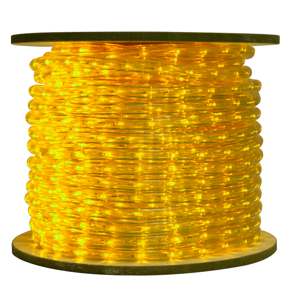 Yellow Rope Light Reel LED