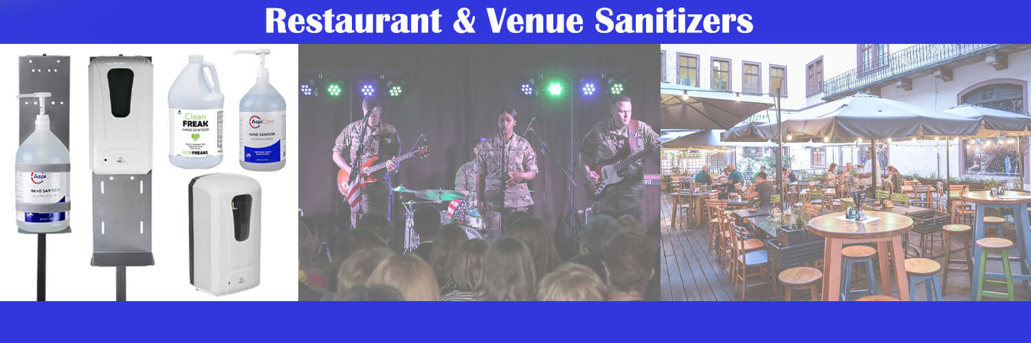 Restaurants & Venue Sanitizers