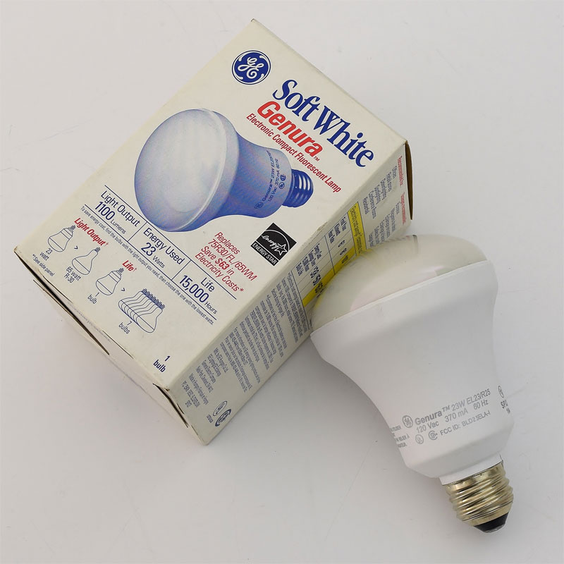 Screw-In CFL, Non-Dimmable, 23W, 2700K  25418