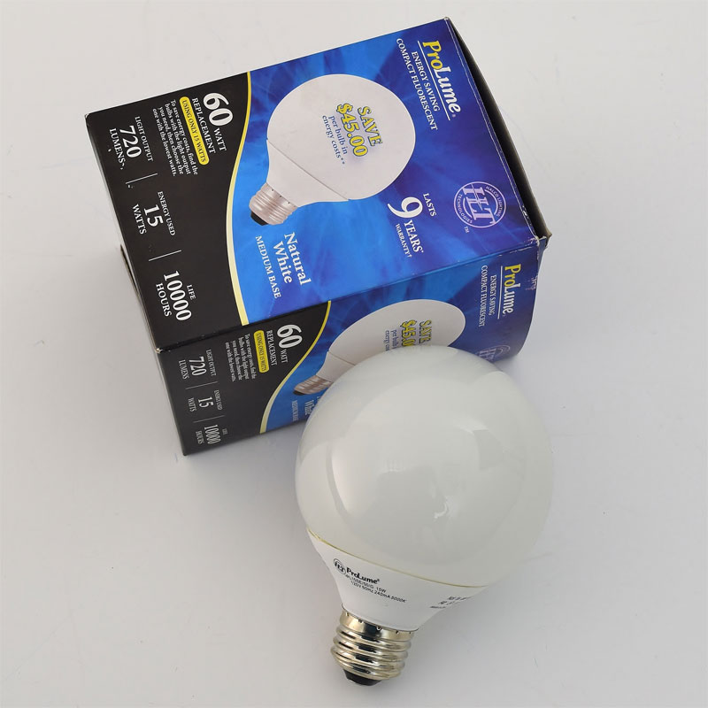 ProLume Compact Fluorescent  Natural White Medium Base 15W 720 Lumens  45717