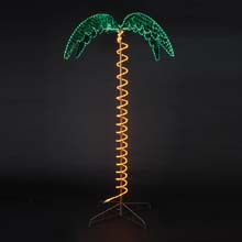 Lighted Palm Tree - 7'