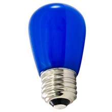 Frosted Blue LED Professional S14 Light Bulbs