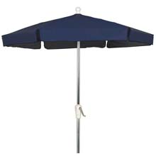 Navy Canopy Outdoor Garden Umbrella