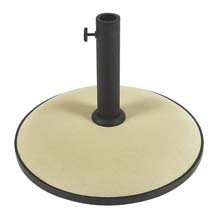 "19"" dia. Concrete Umbrella Base - Beige FB-CB19B"
