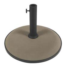 "19"" dia. Concrete Umbrella Base - Champagne Bronze FB-CB19T"