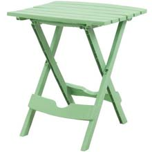 Quik-Fold Summer Green Patio Side Table