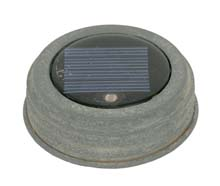 Mason Jar Solar Lid Light - Weathered Galvanized CTC-0315GA