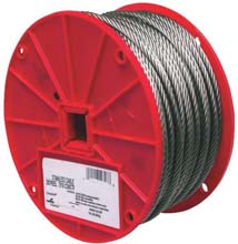 "Stainless Steel Wire - 3/16"" 7 x 16  - 250'"