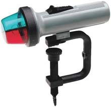 Portable Battery Operated Clamp-On Boat Bow Light