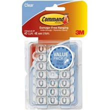 Command Decor Adhesive Clip 241090