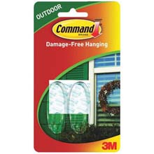 Command Outdoor Window Hooks - 2 Pack 242730