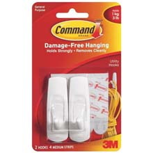 Command Utility Adhesive Hook 649856