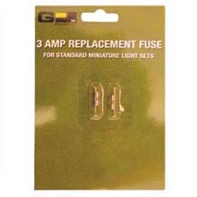 3 AMP/120V Miniature String Light Set Replacement Fuses - 2 Pack