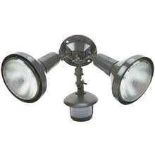 Bronze Twin Motion Floodlight
