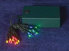 Battery Operated 20 LED Multi Color Mini Lights