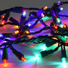 60 LED Multicolor Garland Lights