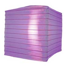 "Purple 10"" Square Nylon Lantern"
