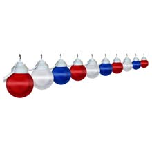 Patriotic Globe String Lights - Set of 10 PP-1699-00515-PRE