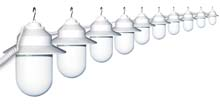 10 Globe White Savannah String Light Set